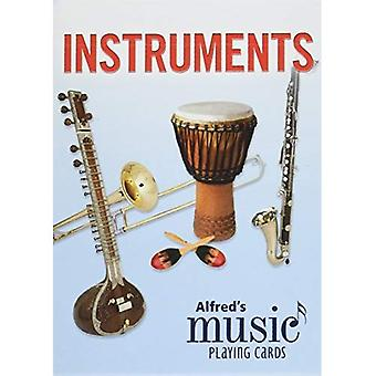 Alfred's muziek spelen kaarten--instrumenten: 1 Pack, kaart dek (Alfred's muziek spelen kaarten)