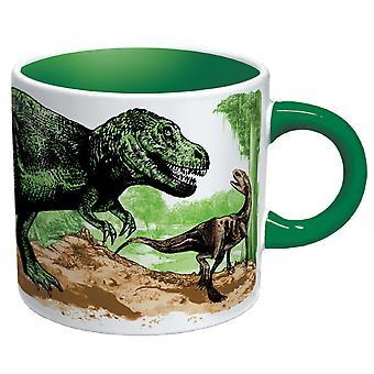 Taza - UPG - Desaparecido Dinosaurio Nueva Taza de Café 0982