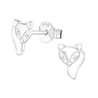 Fox - schlichte Ohrstecker 925 Sterling Silber - W20859X
