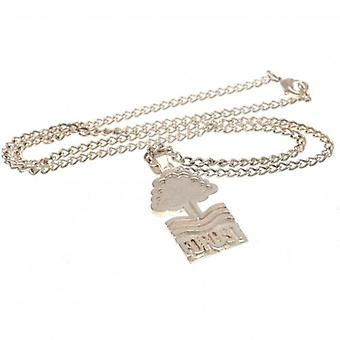 Nottingham Forest Silver Plated Pendant & Chain XL