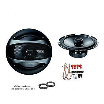 Isuzu D-Max, högtalare Kit front