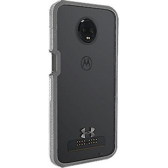 Under Armour UA Protect Verge Case pour moto z3 - Clear/Graphite