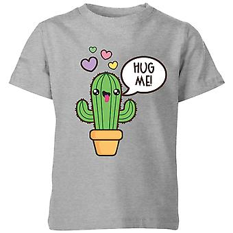 My Little Rascal Hug Me Cactus Kids' T-Shirt - Grey
