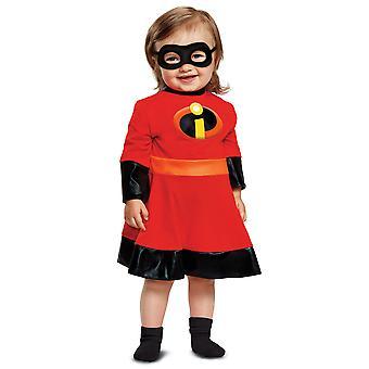 Violet Disney Pixar The Incredibles 2 Superhero Toddler Girls Costume 12-18M