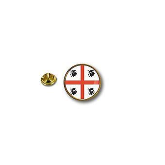 Pine PineS PIN badge PIN-apos; s metal biker biker biker flag Sardinien