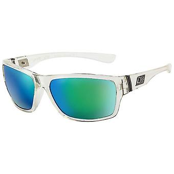 Dirty Dog Storm Sunglasses - Crystal/Green/Blue