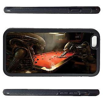 Iphone 7 shell with AVP Alien V preacher Billiards picture Print