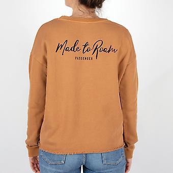Passenger belay sweatshirt - ginger