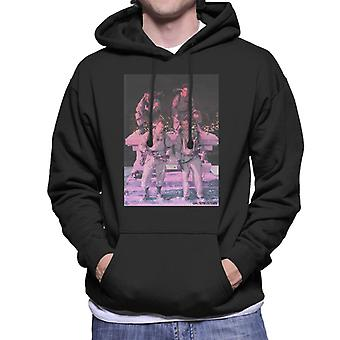 Ghostbusters Crew Pink Photo Men's Hooded Sweatshirt