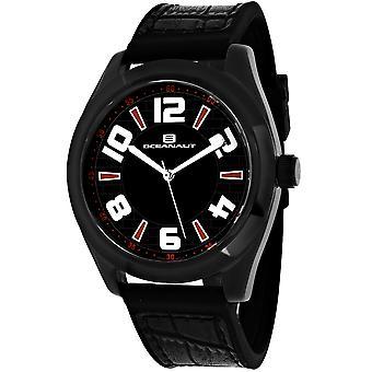 Oceanaut Men-apos;s Vault Black Dial Watch - OC7511