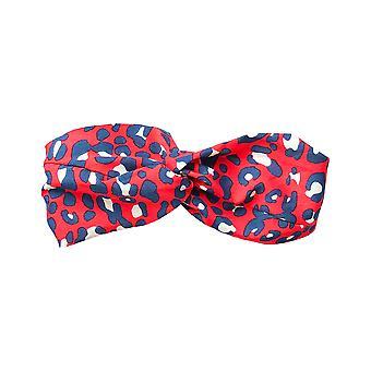 Jewelcity Frauen/Damen Leopard Print Kopftücher (Packung mit 10)