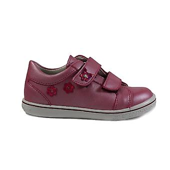 Ricosta Niddy 2523100-341 roze lederen meisjes RIP tape casual trainer schoenen