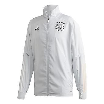 2020-2021 Germany Adidas Presentation Jacket (Grey)