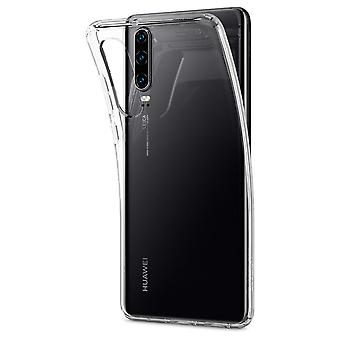 Hull For Huawei P30 Liquid Crystal Transparent