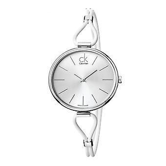 Calvin klein frauen's Uhr, grau 3v231