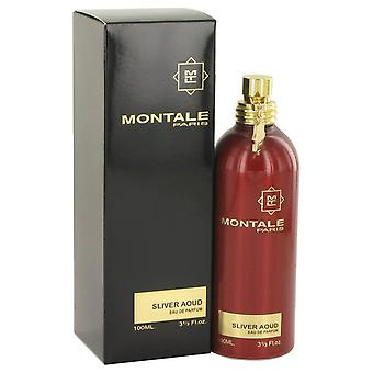 Montale silver aoud eau de parfum spray by montale 518263 100 ml