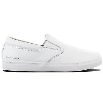 Skechers Mark Nason Los Angeles Gower Slip On 68509-WHT Men's Shoes White Sneakers Sports Shoes