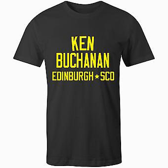 Ken Buchanan Boxing Legend Kids T-Shirt