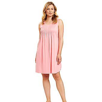 Féraud 3201017-11570 Women's High Class Hot Coral Pink Loungewear Nightdress