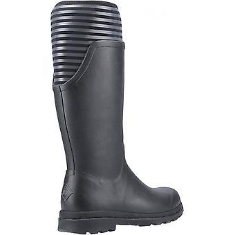 Muck Boots Cambridge Tall Versatile Premium Rain Boot Black / Charcoal Grey