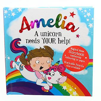 History & Heraldry Magical Name Storybook - Amelia