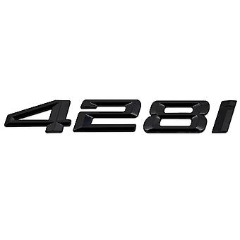 Gloss Black BMW 428i Car Model Rear Boot Number Letter Sticker Decal Badge Emblem For 4 Series F32 F33 F36 G22 G23 G26