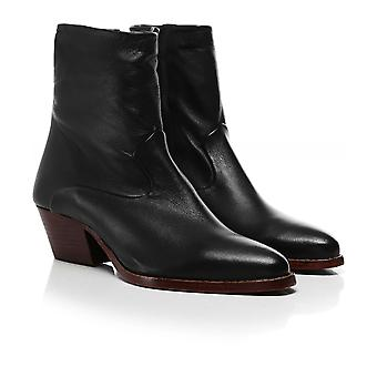 Hudson London Leather Carell Ankle Boots