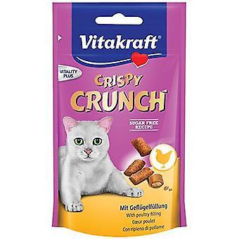 Vitakraft Crispy Crunch Chicken (Cats , Treats , Chewy & Softer Treats )
