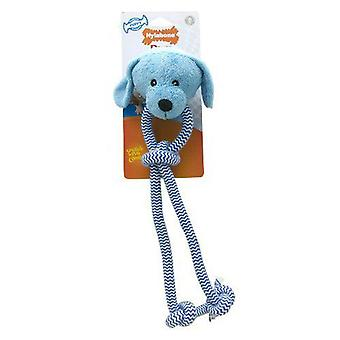Nylabone Dog With Rope For Puppy (Dogs , Toys & Sport , Chew Toys)