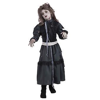 Zombie Mädchen Kind Kostüm