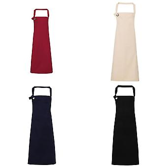 Premier Unisex Calibre Heavy Cotton Canvas Bib Apron (Pack of 2)