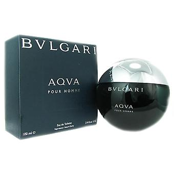Bvlgari aqva for men 3.4 oz eau de toilette spray