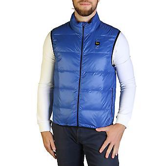 Blauer Original Men Fall/Winter Jacket - Blue Color 35656