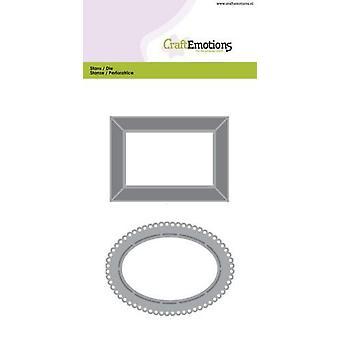 CraftEmotions Die - frames 2 Card 10,5x14,8cm