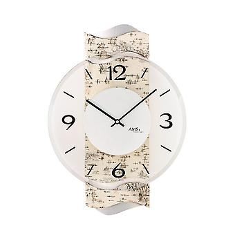 Wall clock AMS - 9624
