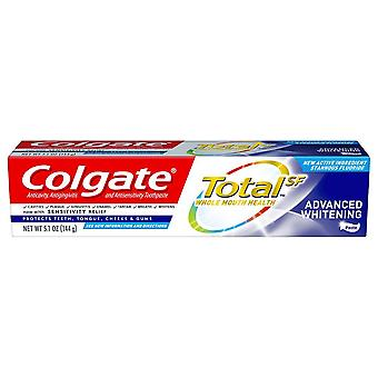 Colgate total whitening toothpaste, advanced whitening, 5.1 oz