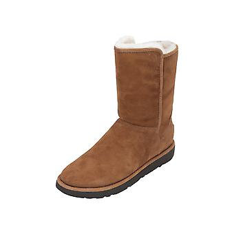UGG ABREE SHORT II Women's Boots Brown Lace-Up Boots Winter