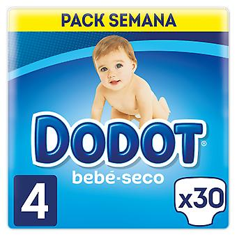 Dodot Baby Dry Diaper Size 4 of 30 Units (Baby & Toddler , Diapering , Diapers)