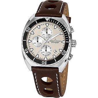 Jacques Lemans - Wristwatch - Uomini - Serie 200 - Classico - 1-2041D