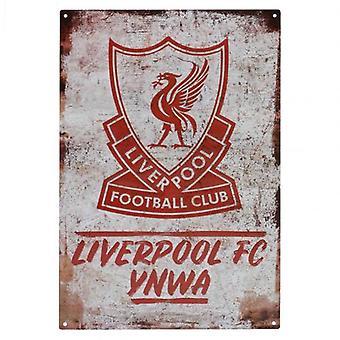Liverpool YNWA Large Metal Sign