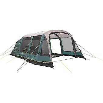 Outwell Parkdale 6PA Prime Air 6 Man 4 Room Inflatable Tunnel Tent Green