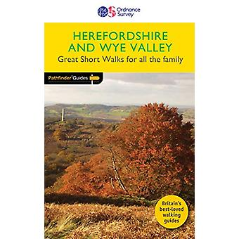 Short Walks Herefordshire & the Wye Valley - 9780319091029 Book