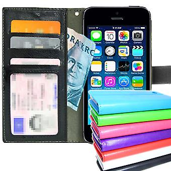 TOP Wallet Case iPhone 4/4S with ID/photo Pocket + protection