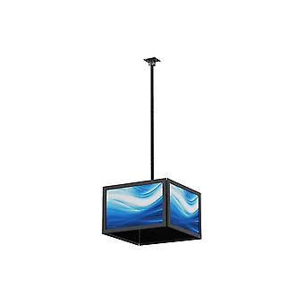 Quad Sided Katto TV Mount Bracket, Televisiot 32-65 tuumaa, Max Paino 66lbs per näyttö yksihintaan