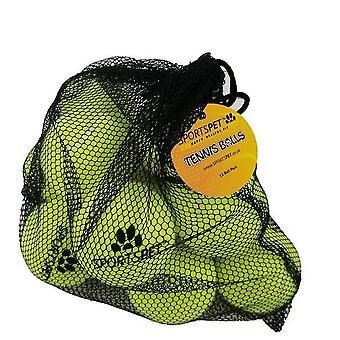 Palle da tennis Sportspet Dog (Pacchetto Di 12)