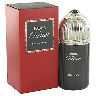 Pasha De Cartier Noire Eau De Toilette Spray By Cartier 3.3 oz Eau De Toilette Spray