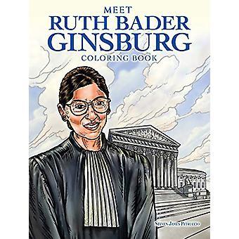 Meet Ruth Bader Ginsburg Coloring Book by Steven James Petruccio - 97