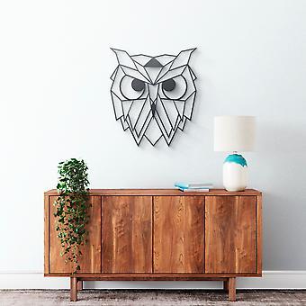 Metallwandkunst - Owl