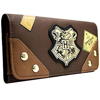 Harry Potter Ollivanders The Leaky Cauldron tronc Tri-Fold Purse