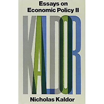 Essays on Economic Policy - v. 2 by Nicholas Kaldor - 9780841904545 B